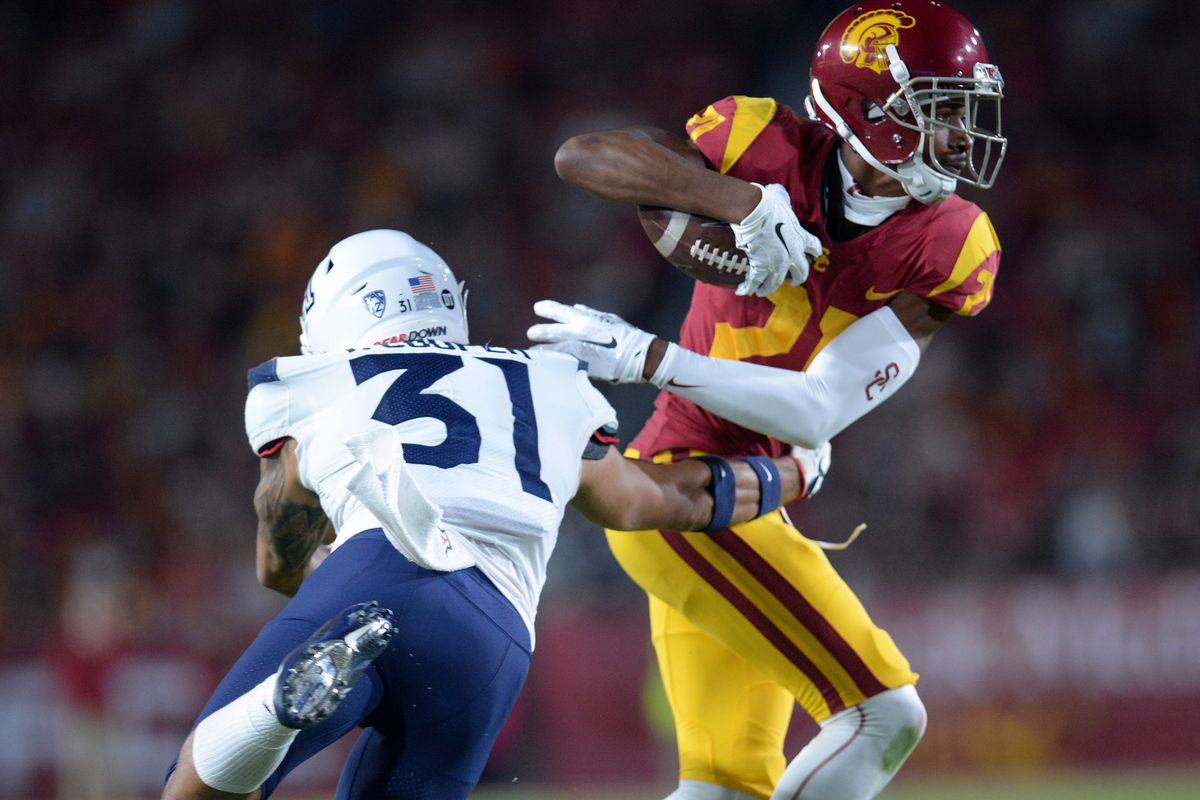 Uofa Football Score >> Arizona Vs Usc Final Score Wildcats Blown Out By Trojans