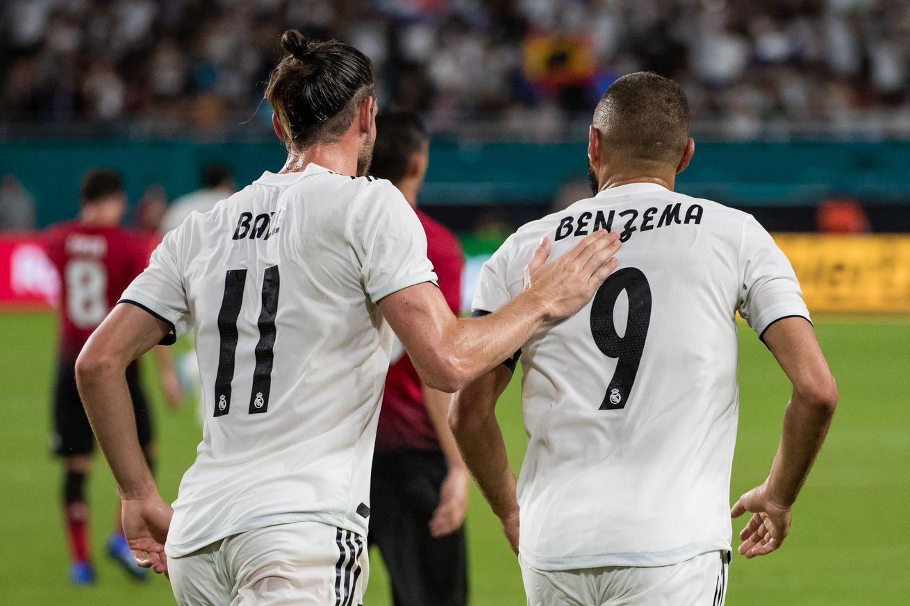 CONFIRMED lineups: Real Madrid vs Milan, 2018 pre-season