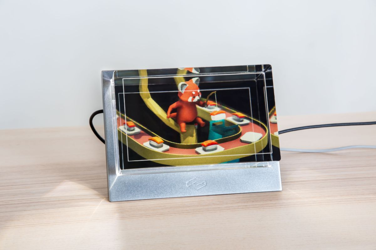 Put holograms in your home with The Looking Glass display - The Verge