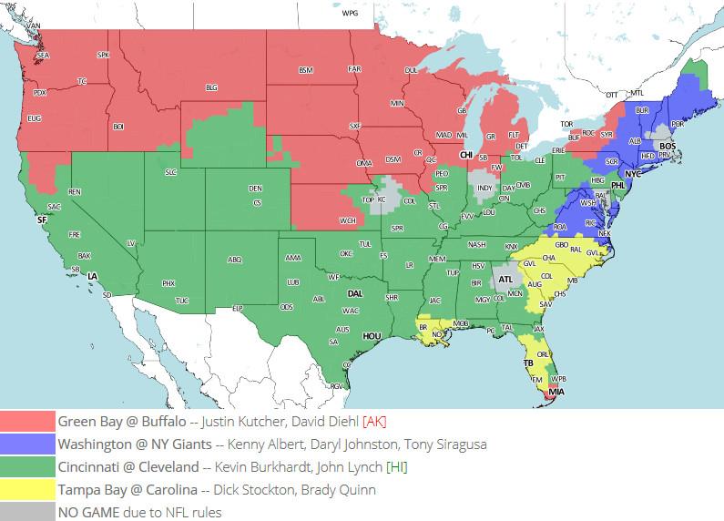 Week 15 TV Map 2