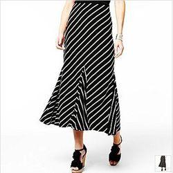 Striped Maxi Skirt, $35
