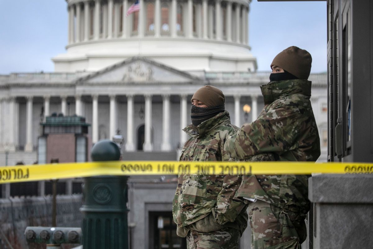 Washington D.C. Tense After U.S. Capitol Is Stormed By Protestors On Wednesday