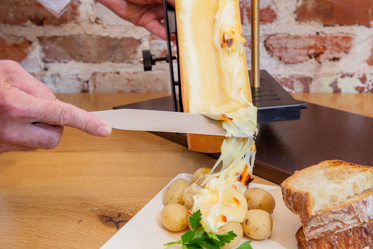 Warm Up With Raclette The Gooey Cheese Now Appearing On D