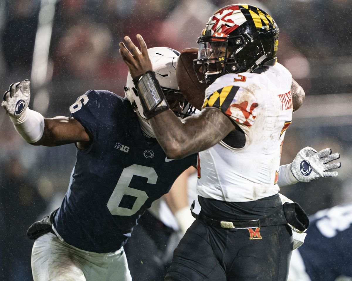 COLLEGE FOOTBALL: NOV 24 Maryland at Penn State