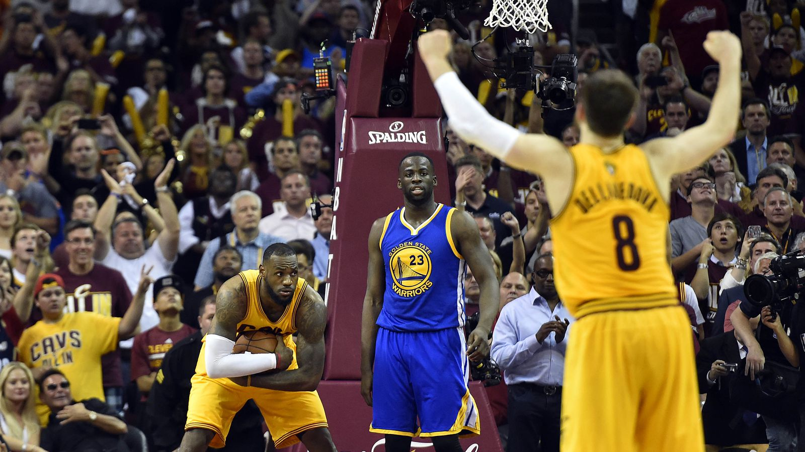Delly reads, lives 'David and Goliath'