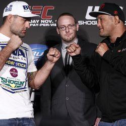 UFC 139 Press Conference Photos