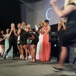 The winning moment of the NYX FACE Awards.