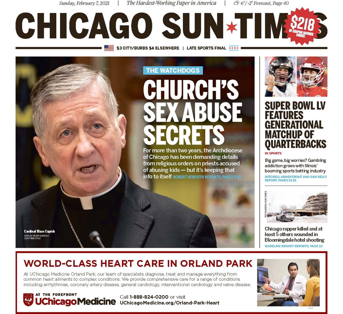 Click here to read Sun-Times Feb. 7 report.