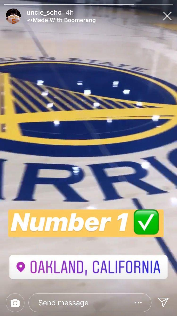 Warriors NBA Draft Visits 2019