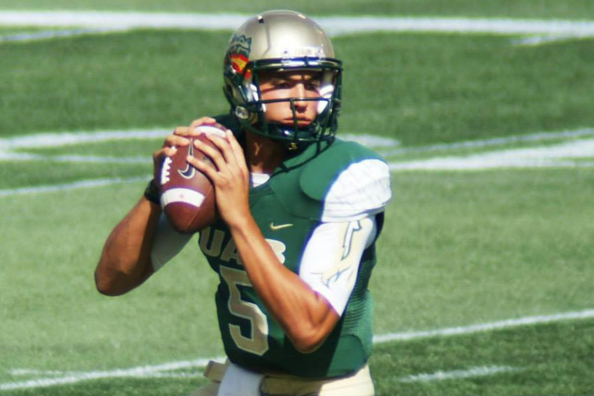 Reigning co-offensive C-USA player of the week Cody Clements