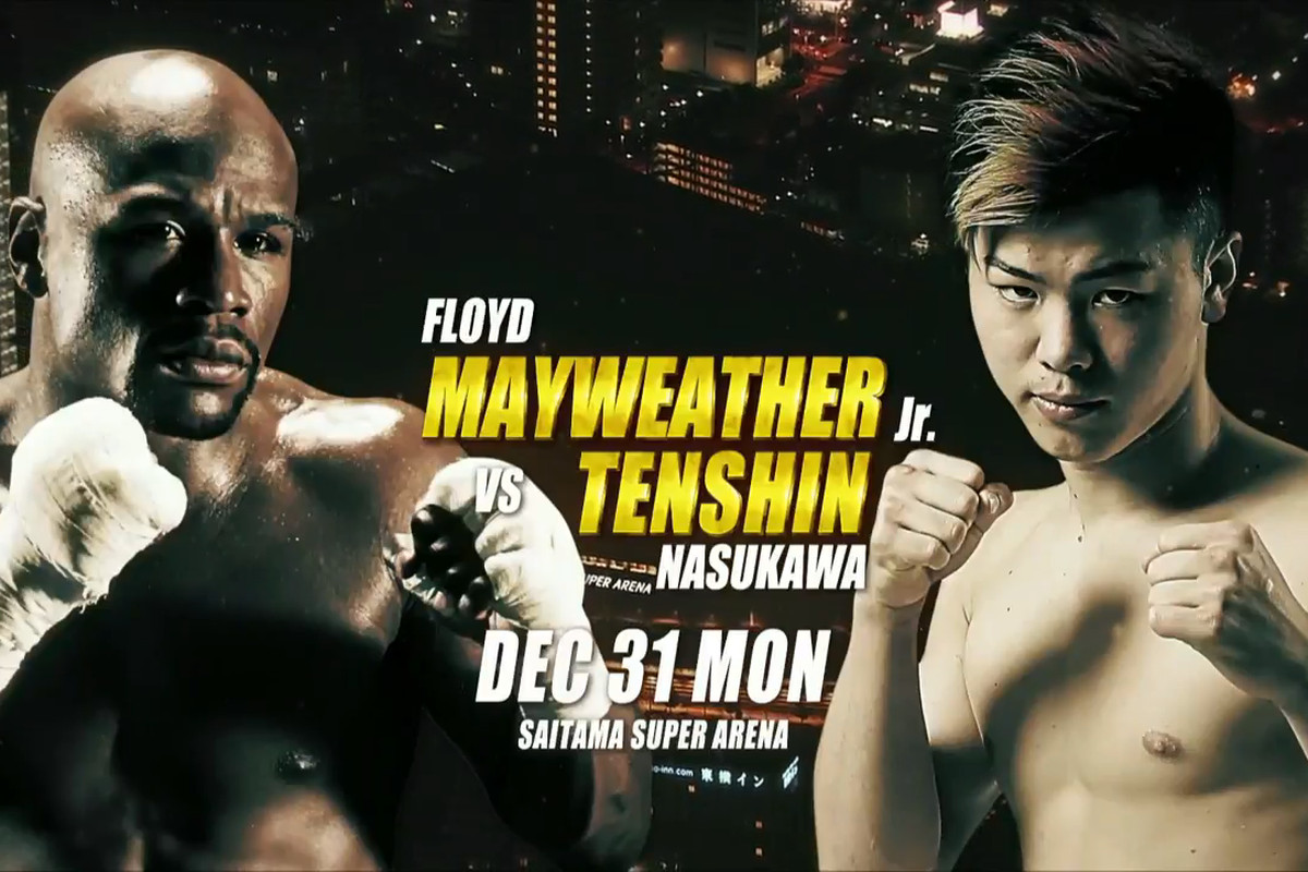 Image result for mayweather vs nasukawa live stream