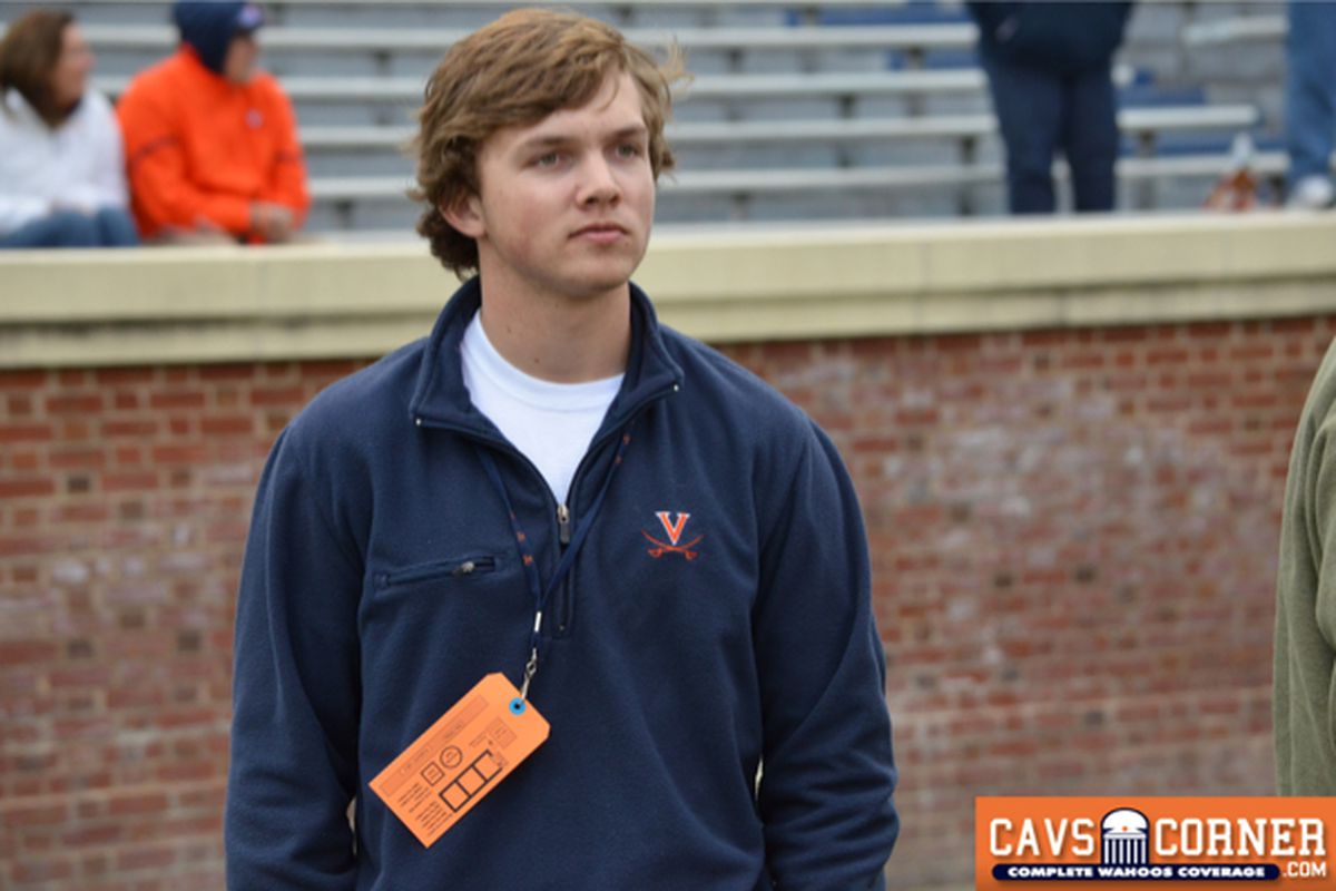 Kicker Gary Wunderlich becomes Virginia's 4th commitment for the 2014 class