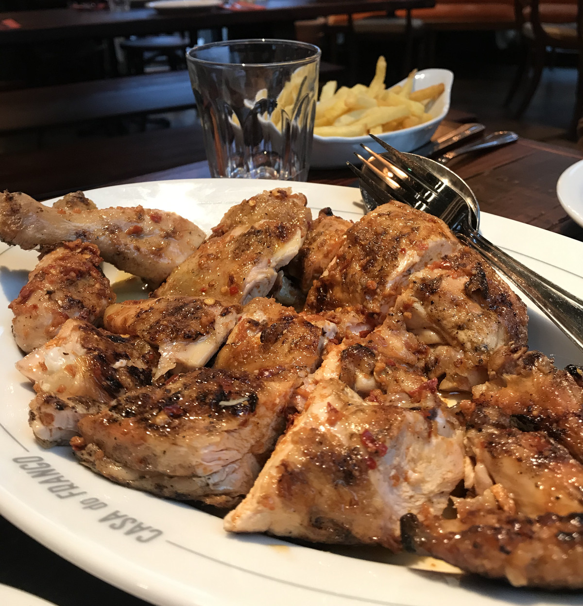 Chicken and chips and Casa do Frango in Shoreditch was one of the best things Eater writers ate in London this week