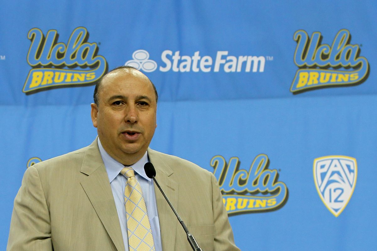 UCLA Athletic Director Dan Guerrero