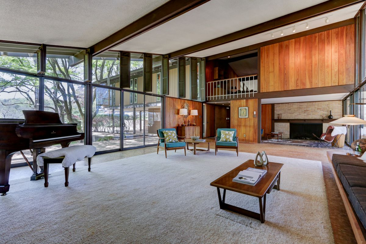 Untouched midcentury masterpiece on the market for the first time ...