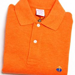 """<a href=""""http://www.brooksbrothers.com/IWCatProductPage.process?Merchant_Id=1&Section_Id=862&Parent_id=861&Product_Id=1503488&default_color=orange-heather#"""" rel=""""nofollow"""">Orange Heather Golden Fleece Polo</a>, $65<br />"""