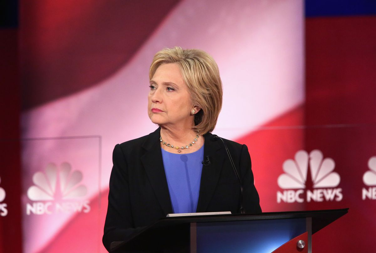 Hillary Clinton at the January 17 debate.