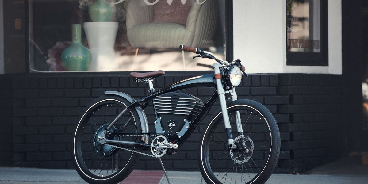 Classy e-bike is designed like a luxe vintage car