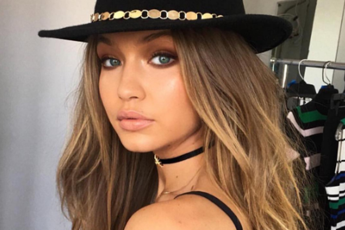 """Gigi Hadid, non-touring muse. Photo: <a href=""""https://www.instagram.com/p/BEeI5yCjCS3/?hl=en%27"""">@GigiHadid </a>"""