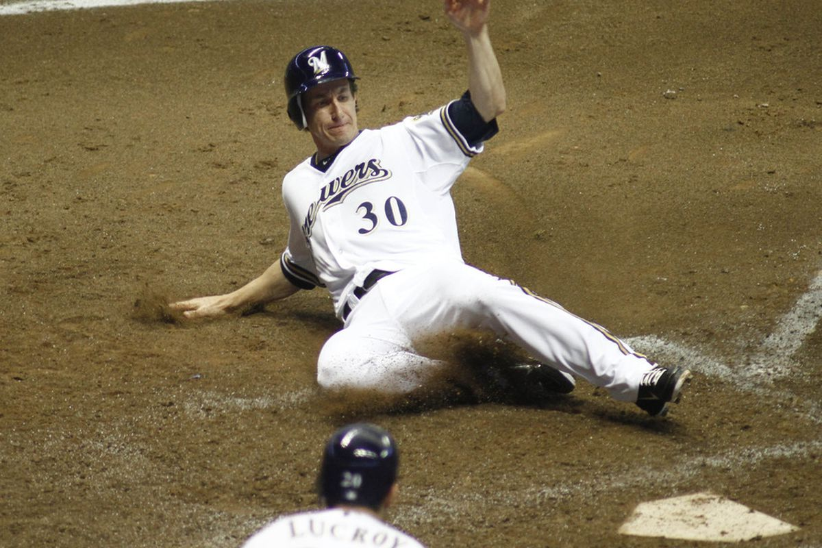 I feel like Craig Counsell should start at shortstop tonight. Any objections?