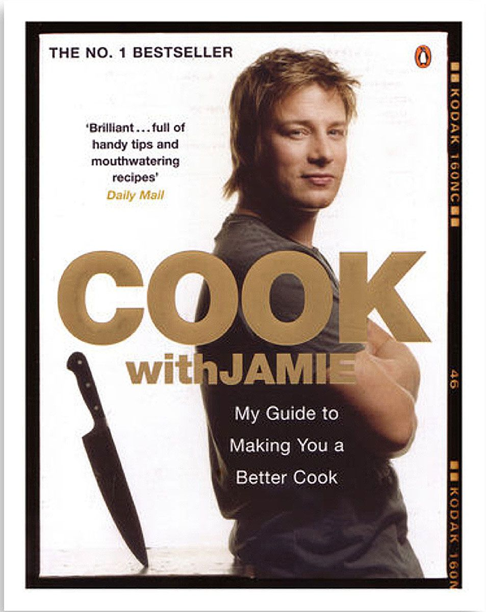 Cook With Jamie by Jamie Oliver, one of the best cookbooks chosen by Eater writers