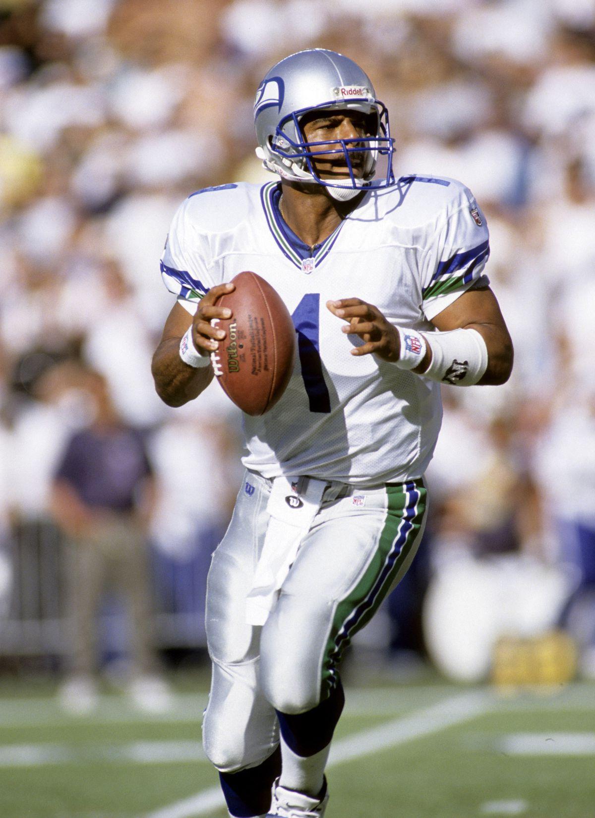 Warren Moon - Seattle Seahawks - File Photos
