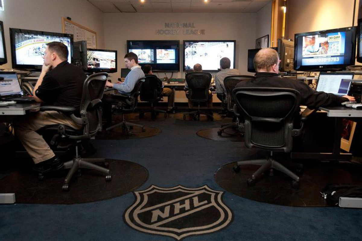 The NHL reviewing the content of Battle of California
