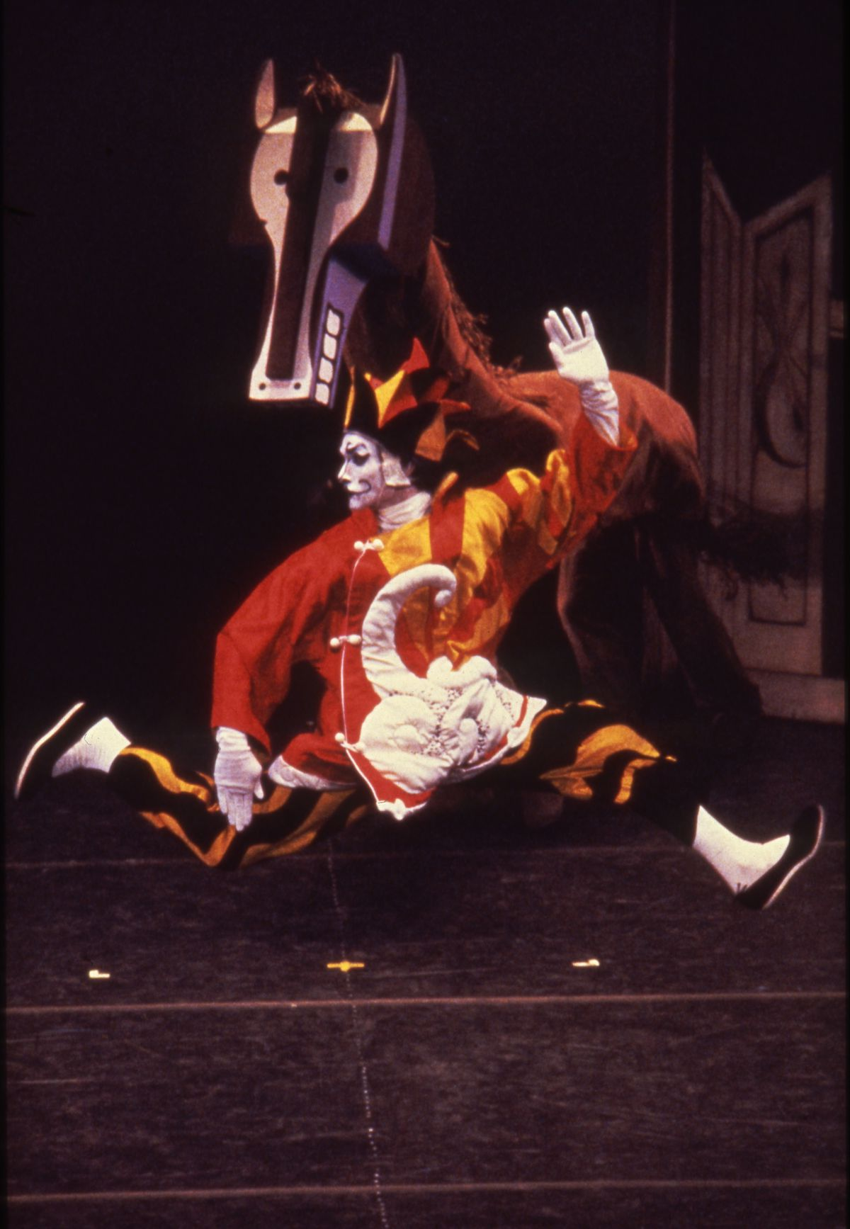 """The Joffrey Ballet production of """"Parade,"""" whose sets and costumes were designed by Picasso, suggests the artist returned to an old image for his Chicago sculpture. 