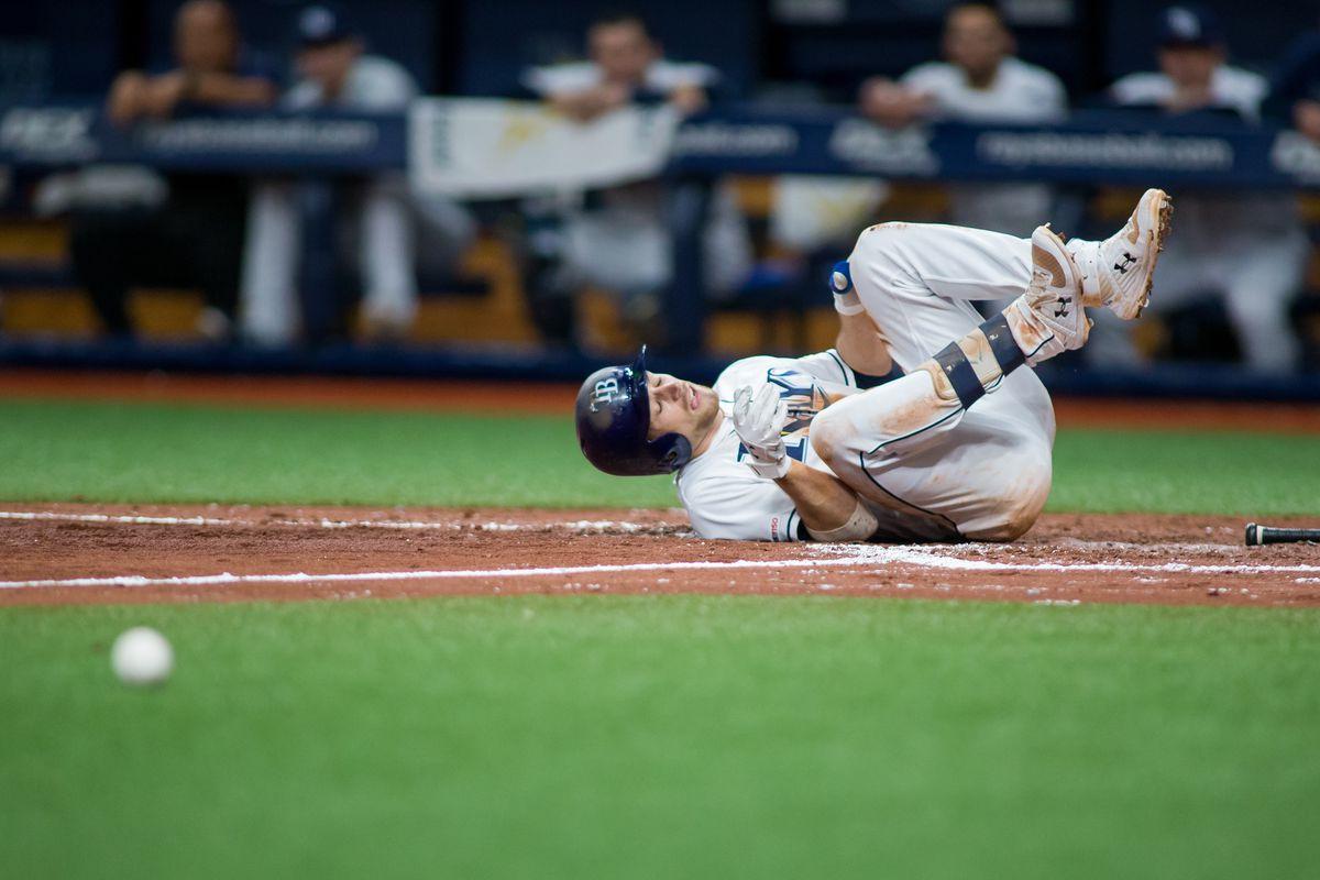MLB: JUL 02 Orioles at Rays