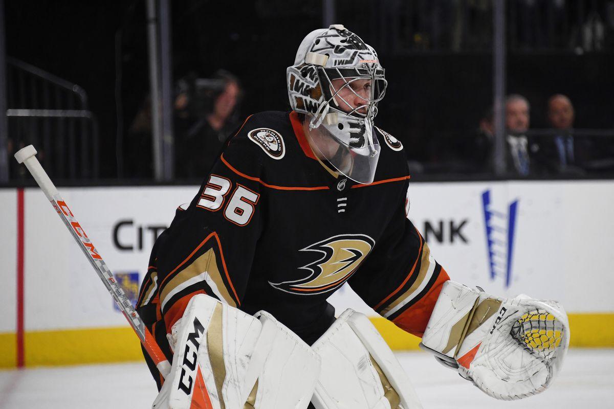 Ducks Sign John Gibson to 8-Year Extension - Anaheim Calling