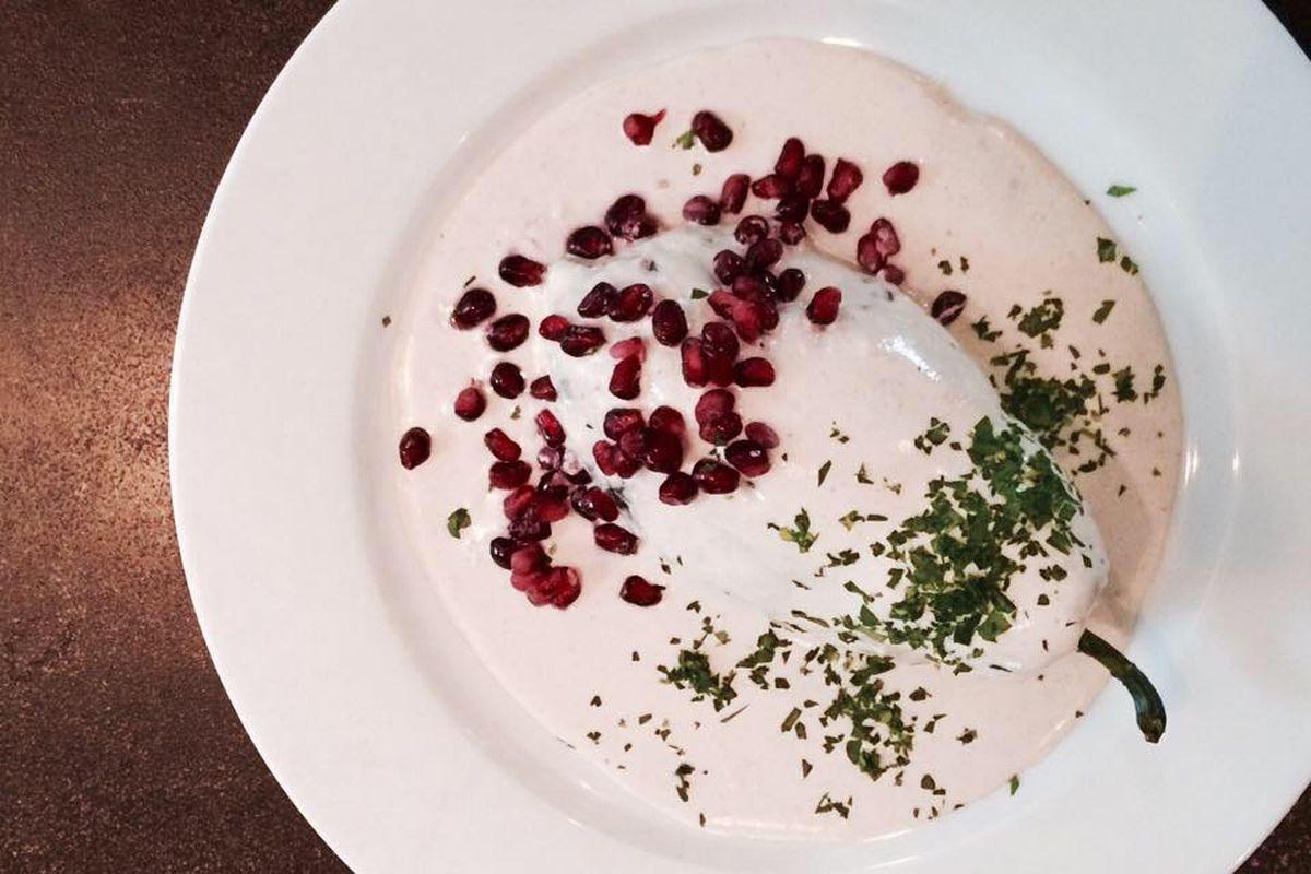 A dish from El Naranjo