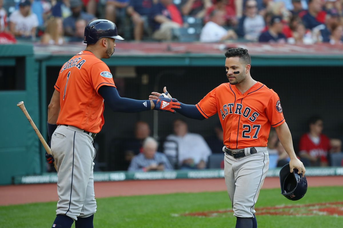 Divisional Round - Houston Astros v Cleveland Indians - Game Three
