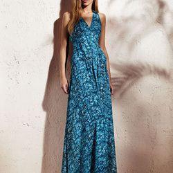 V-neck maxi dress, $88
