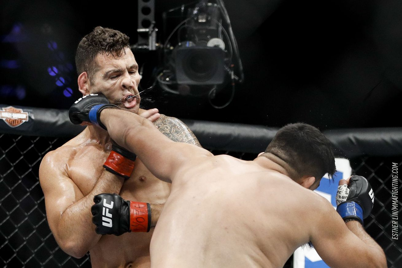 community news, Chris Weidman responds to viral punchface photo from Kelvin Gastelum win