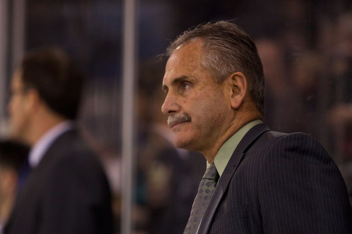 """Coach Desjardins believes """"there's a lot of things we have to do better""""."""