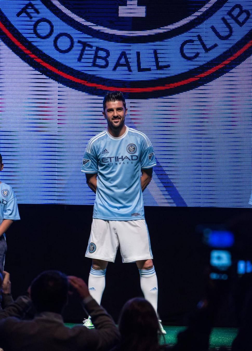 NYCFC home jersey mockup