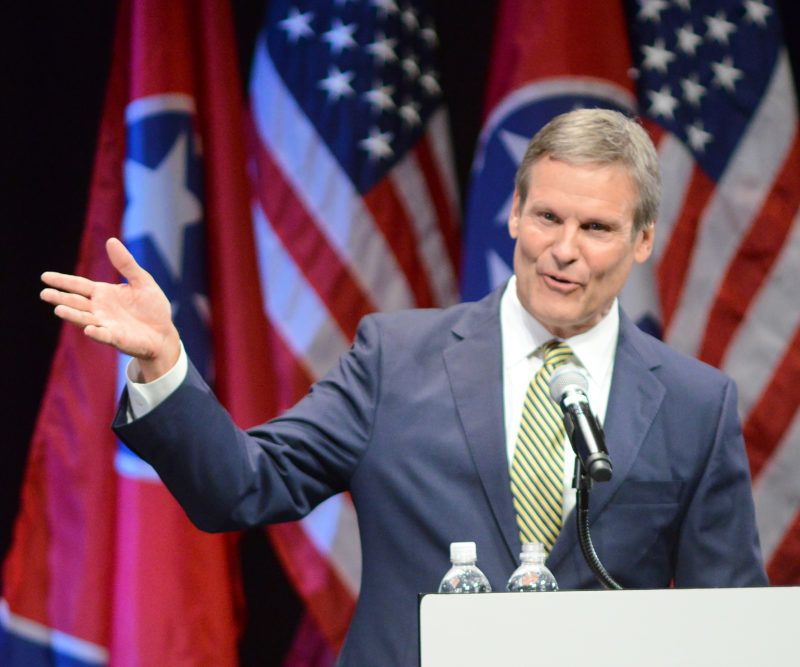 Bill Lee was elected Tennessee's 50th governor in November and will take the oath of office on Jan. 19.