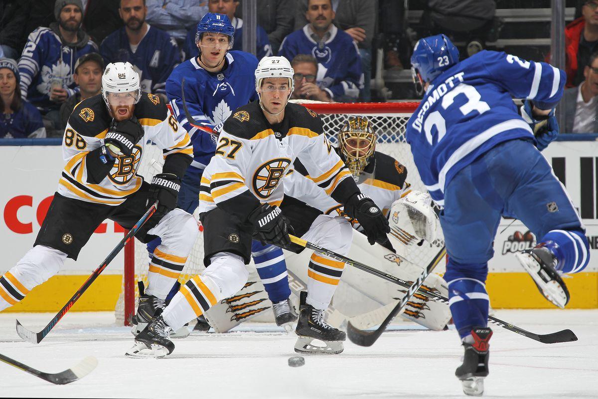Boston Bruins v Toronto Maple Leafs