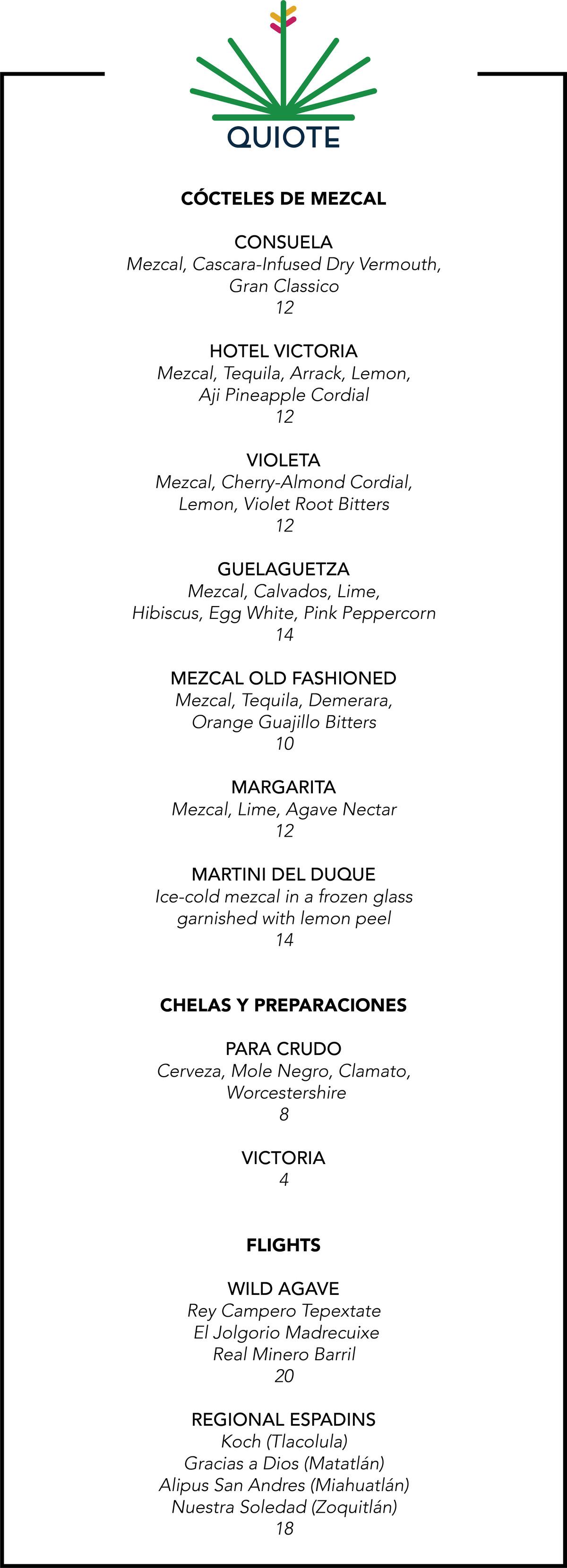 Logan Square's Quiote Opens Mezcal Bar Featuring Mexican