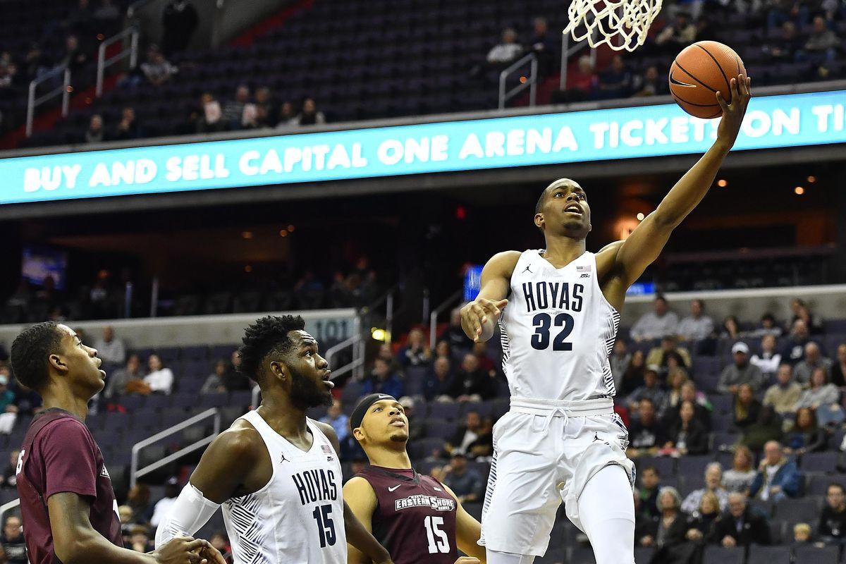 NCAA Basketball: Maryland - E. Shore at Georgetown
