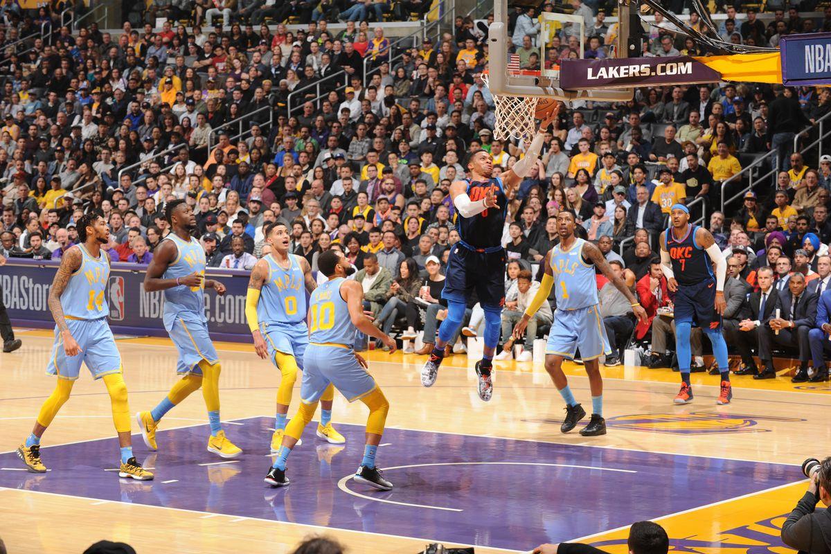 """cbee71eecea9 The Credits  """"Nightmare on  Figueroa  Street"""" - Lakers Links ..."""