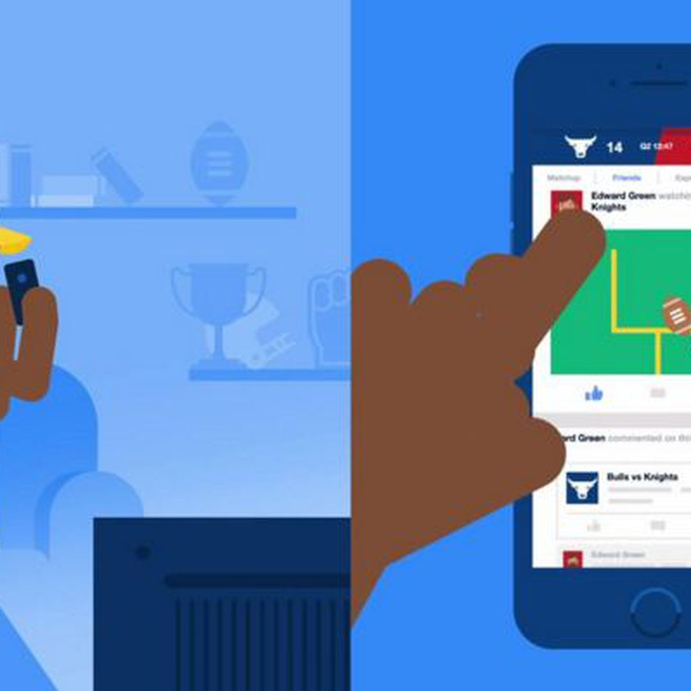 Facebook launches Sports Stadium hub for you to chat about
