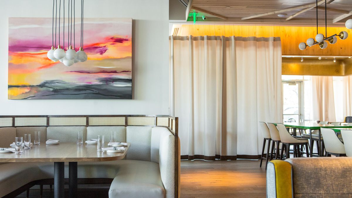 Take A Sneak Peek Into Spacious New Seafood Restaurant Guild