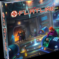 FLATLINE is a cooperative dice game set in the FUSE universe. Players must roll their dice and work to combine them with other players in order to properly treat arriving patients.