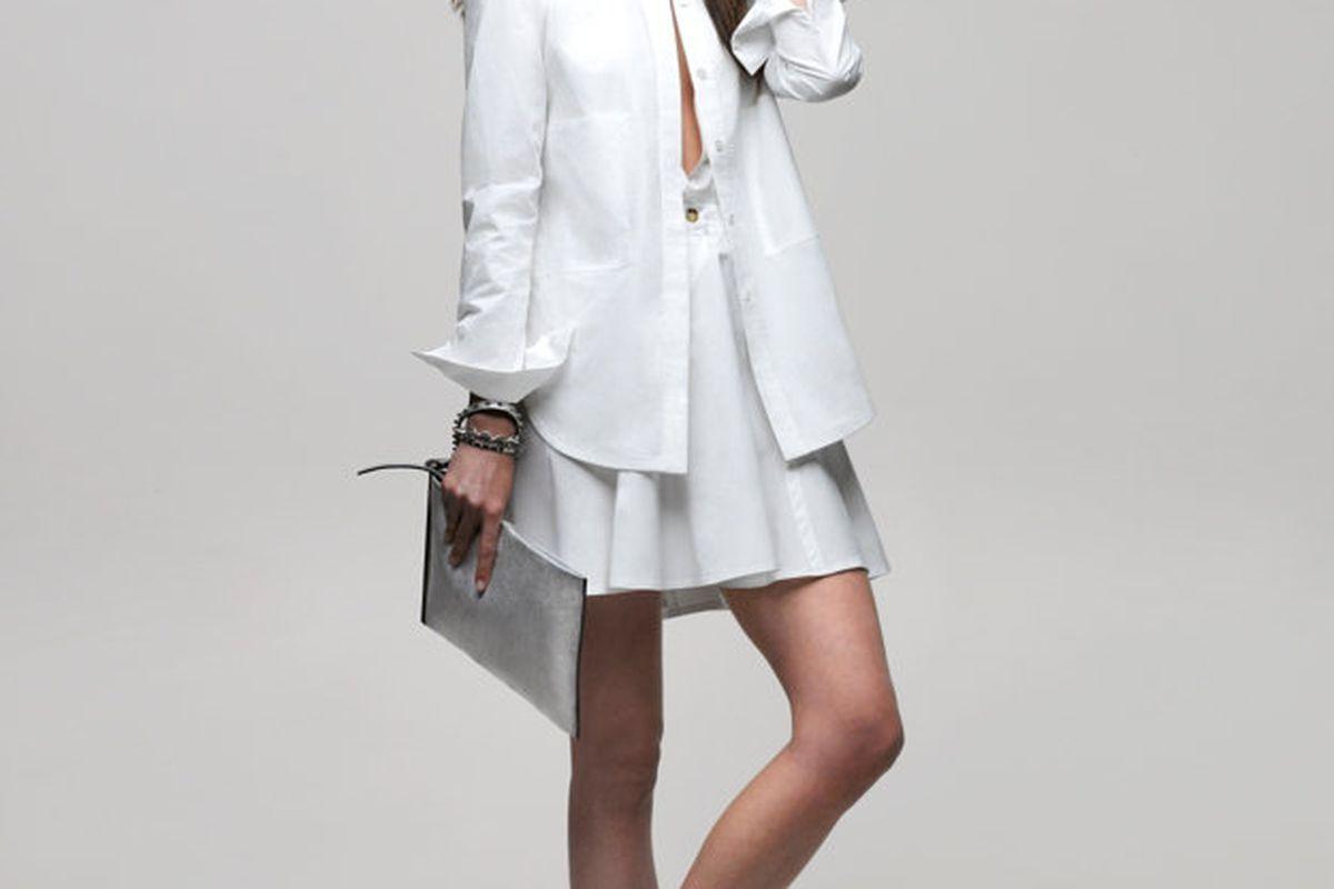 """10 Crosby Derek Lam cotton shirt dress, <a href=""""http://www.intermixonline.com/product/10+crosby+derek+lam+cotton+shirt+dress.do?sortby=ourPicks&amp;from=Search&amp;"""">Intermix</a>, $395"""