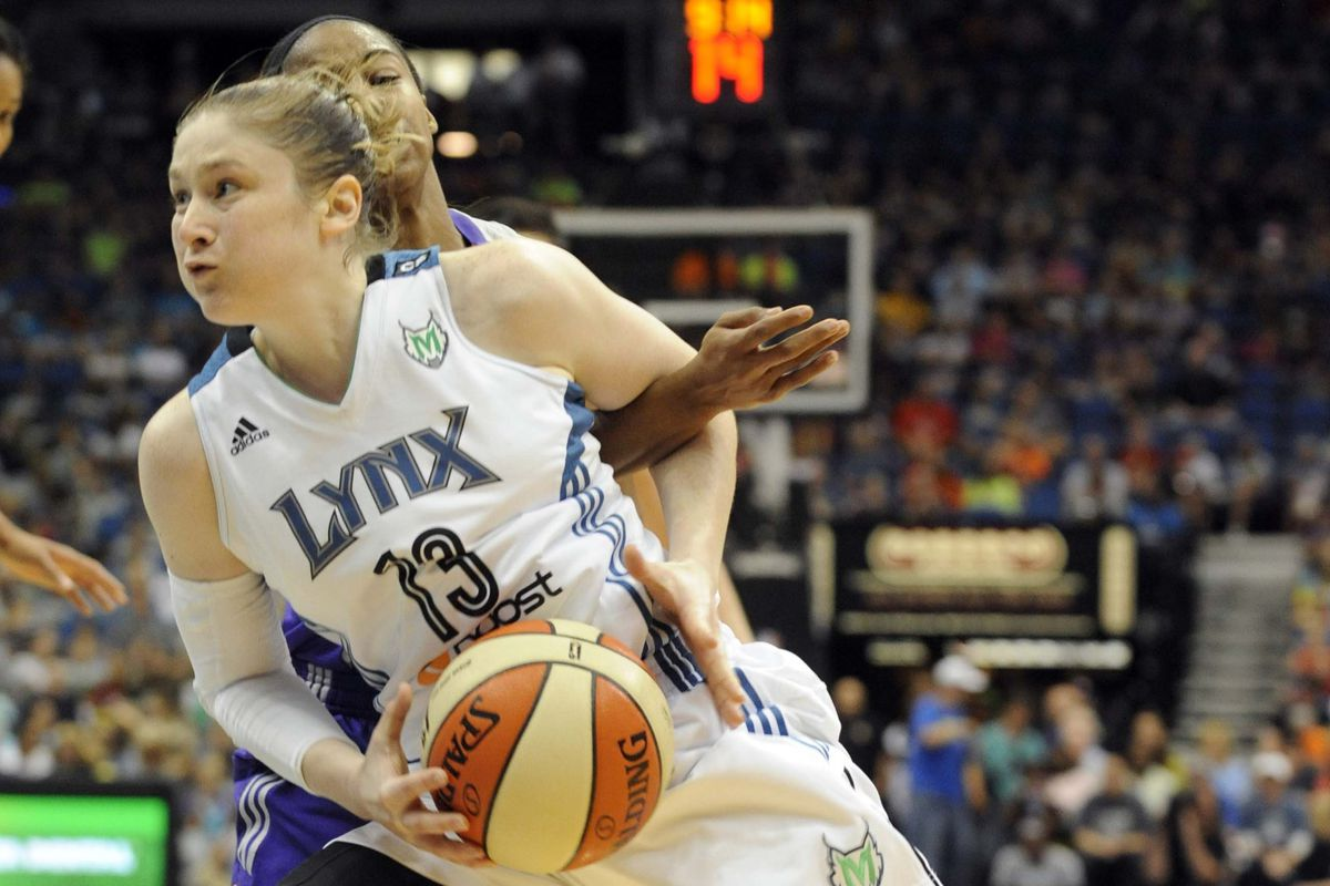 An aggressive, driving Lindsay Whalen will be a good thing for the Minnesota Lynx in the WNBA Finals.