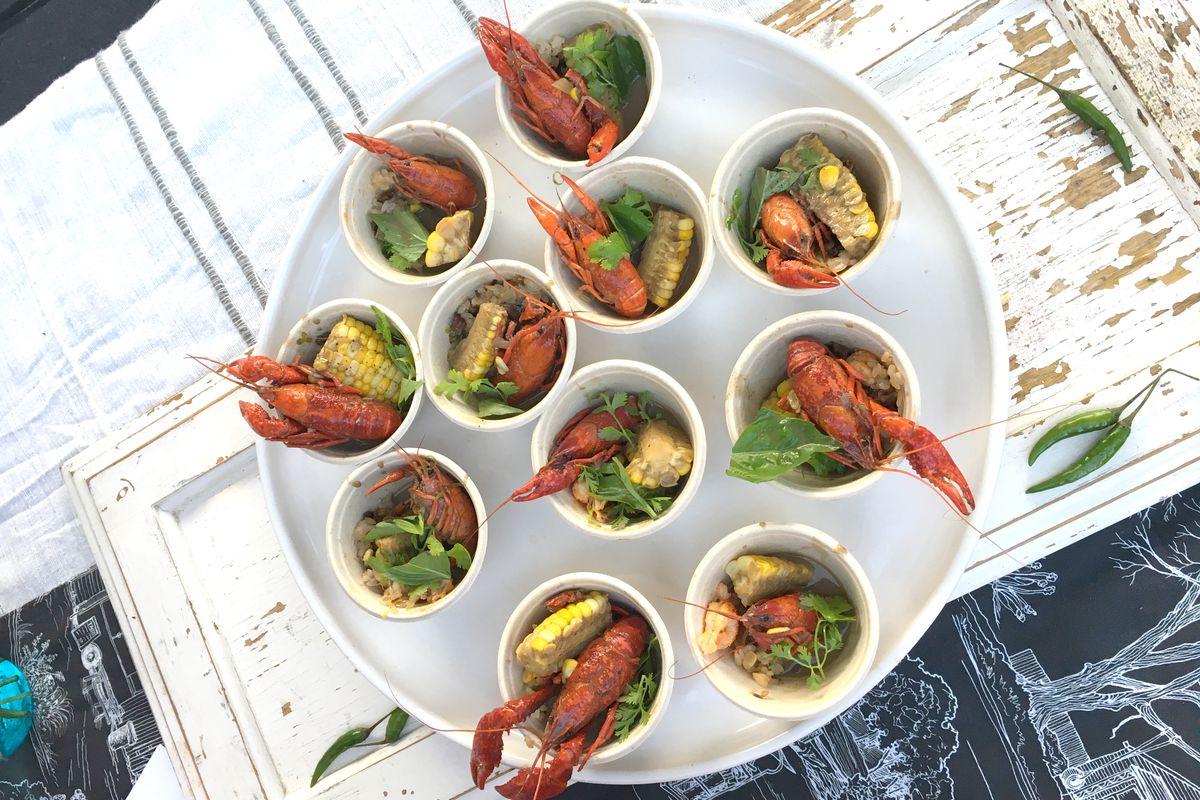 Vixen's Wedding/Lenoir's Goan crawfish curry during Hot Luck Festival 2019