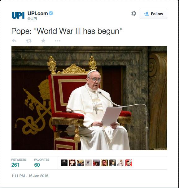 UPI 1:11 Pope