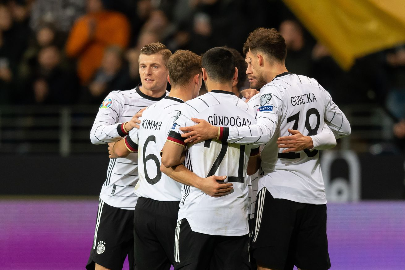 Match awards for Germany?s 6-1 victory over Northern Ireland