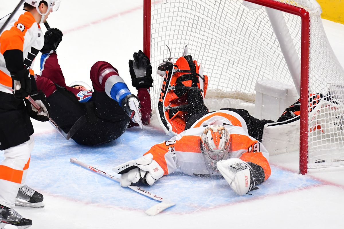 Flyers look to put Penguins loss in rear view as Avs head to town